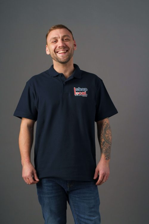 Adult Polos - Navy