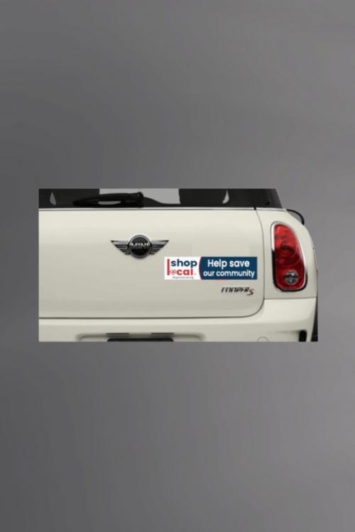 Bumper Stickers - On Car