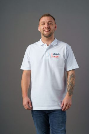 Adult Polos - White