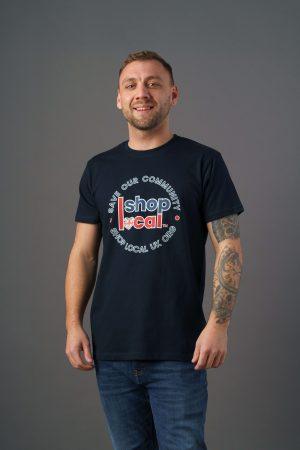 Adult T-shirts - Circle - Navy