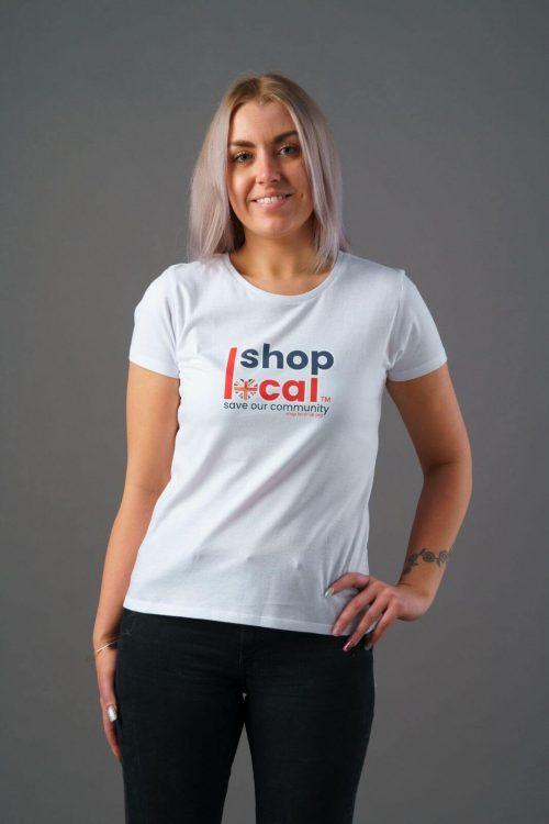 Women T-shirts - Square - White