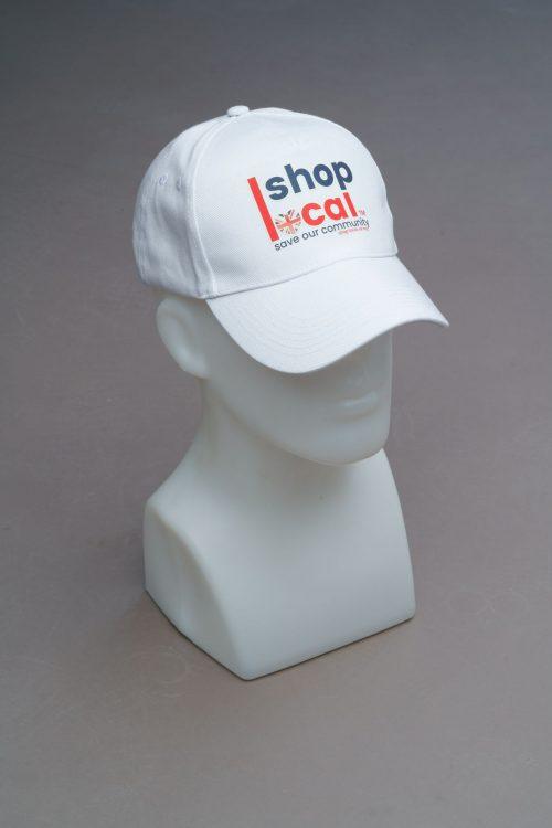 Baseball Hats - White