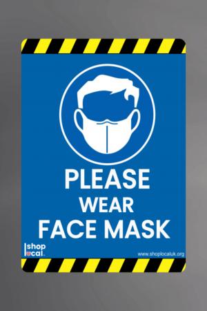 Please Wear Face Mask