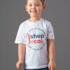 HERO Youth T-shirts - Circle - White