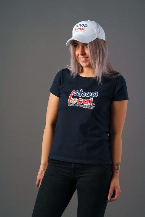 Women T-shirts - Square - Navy