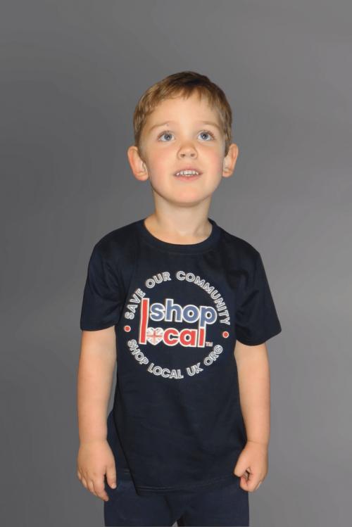 Youth T-shirts - Circle - Navy
